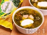 Агнешка супа със спанак за Великден или Гергьовден